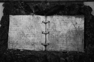 """""""Carte"""" funerară"""
