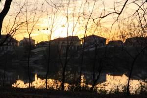 Lacul de pe domeniu